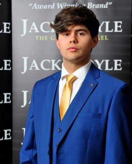 Blue Three Piece Jack Doyle Wedding Suit Suit Distributors Cork