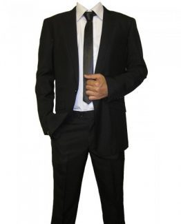 York Black Two Piece Suit Suit Distributors Cork
