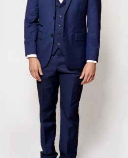 Rambo Royal Blue Three Piece Notch Lapel Suit | Suits Distributors Cork