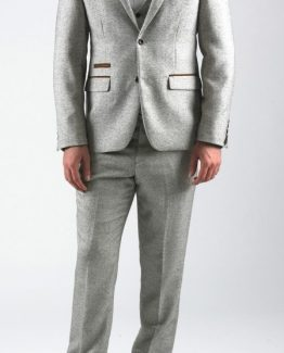 Rayford Cream Herringbone Tweed Three Piece Suit | Suits Distributors Cork